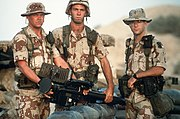 Stinger Crew Operation Desert Shield -- 1 April 1992