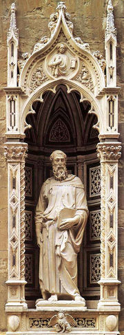 Statue of St. Mark by Donatello