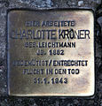 Stolperstein Friedrichstr 55 (Mitte) Charlotte Kroner.jpg
