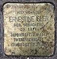 Stolperstein Helmstedter Str 27 (Wilmd) Ernestine Isler.jpg