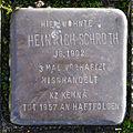 Stolperstein Solingen Finkenstr. 5 Heinrich Schroth.jpg