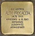 Stolperstein für Aldo Procaccia (Napoli).jpg