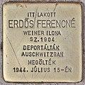 Stolperstein für Ferencne Erdös (Budapest).jpg