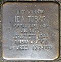 Stumbling stone for Ida Tobar (Mauritiussteinweg 2)