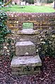 Stone Stile, West Meon Churchyard - geograph.org.uk - 833238.jpg
