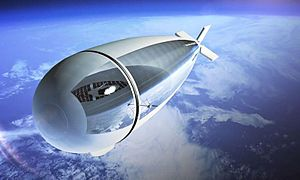 Geostationary balloon satellite - Stratobus airship