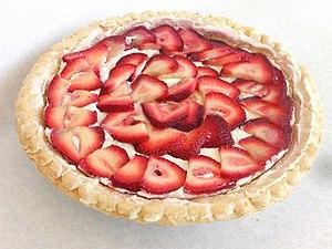 Strawberry pie - Image: Strawberry Cheese Pie
