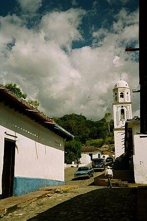 Venezuelan bambuco - Typical town of the Venezuelan Andes