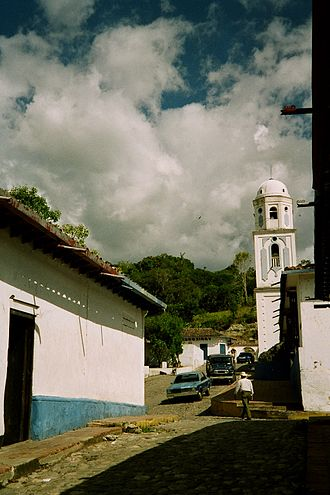 Venezuelan bambuco - Typical town of the Venezuelan Andes