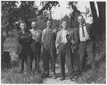 Strikers at the Burlington Railroad shop yards. Plattsmouth - NARA - 283730.tif
