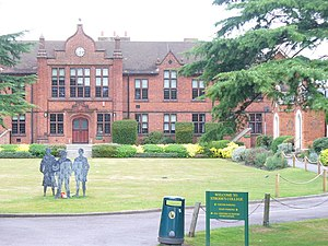 Strode's College - Image: Strode's College, Egham geograph.org.uk 1501614