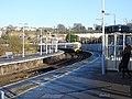 Strood station (2017) Platform 1 465193 arrives from Higham 7581.JPG