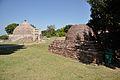 Stupa 3 and Other Stupa - Sanchi Hill 2013-02-21 4533.JPG
