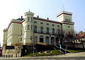 Bielsko - Sułkowski family castle in Bielsko