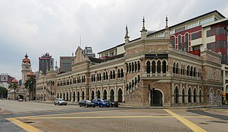Sultan Abdul Samad Building - The General Post Office added in 1907