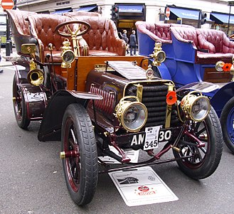 Sunbeam Motor Car Company - 1903 12 horsepower Sunbeam by Berliet
