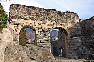 Cottian Alps - Roman aqueduct of Susa