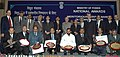 Sushilkumar Shinde and the Minister of State of Power, Shri Bharatsinh Solanki with the National awardees of Meritorious Performance in several utilities in Power Sector, in New Delhi on January 29, 2010.jpg