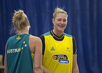 Suzy Batkovic - Image: Suzy Batkovic and Abby Bishop at the Opals camp