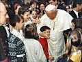 Sveti oce Janez Pavel II in Vid Gajsek.jpg