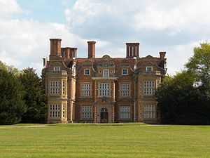 Swakeleys House - View of the west side of Swakeleys House