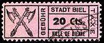 Switzerland Biel Bienne 1921 revenue 20c - 46.jpg