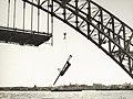 Sydney Harbour bridge - Erecting Hanger (7653427084).jpg