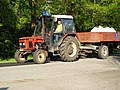 Třeboň, Jiráskova, autoškola - traktor.jpg