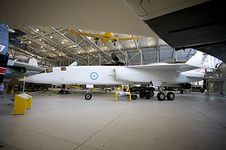 BAC TSR-2 - TSR-2 XR222 photographed at Duxford, 2009