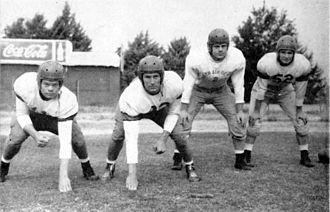 1943 Texas Tech Red Raiders football team - A group from the 1943 Texas Tech football team