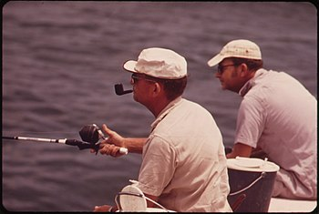 TWO NATIVE FLORIDIANS FISHING AT SPANISH HARBO...