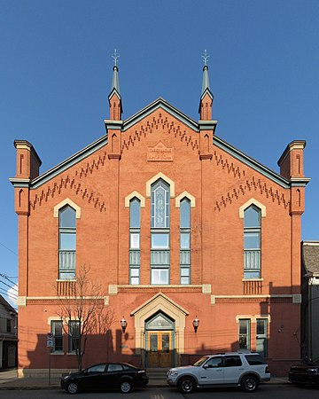 Tabernacle of the Union Baptist Church, South Side, Pittsburgh