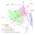 Tamagawa Denki Tetsudou Route Map 1930s.png