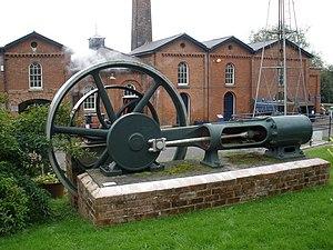 Richard Tangye - Image: Tangye single cylinder horizontal steam engine geograph.org.uk 965139