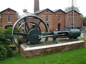 Richard Tangye - Image: Tangye single cylinder horizontal steam engine geograph.org.uk 965139