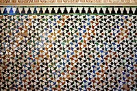 Tessellations like this inspired Escher's work.