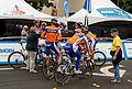 Team Rabobank, Tour of California 2012, Santa Rosa.jpg