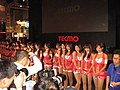 Tecmo promotional models at Tokyo Game Show 20081011.jpg