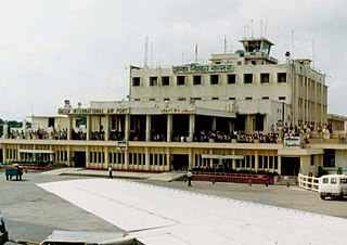Tejgaon Airport Airport in Dhaka, Bangladesh