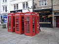 Telephone boxes outside the Market Tavern, Durham - geograph.org.uk - 991684.jpg