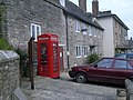 Telephone kiosk at Corfe Castle - geograph.org.uk - 886581.jpg