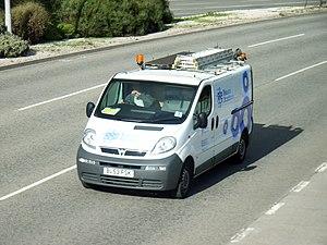 Telewest - A Telewest Vauxhall Vivaro van in Plymouth, Devon
