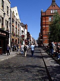Temple Bar, Dublin Neighbourhood of Dublin in Ireland