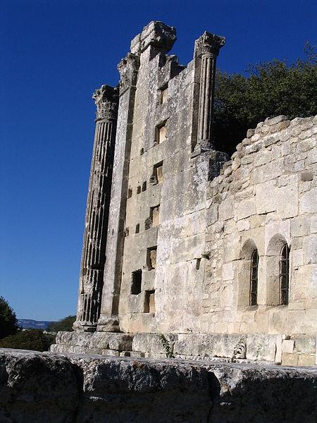 Temple romain de Château-Bas