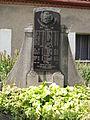 Teplýšovice, detail pomníku padlým za první světové války.JPG