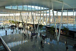 Copernicus Airport Wrocław - Interior of Terminal T2