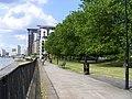 Thameside walkway, Isle of Dogs - geograph.org.uk - 1334834.jpg