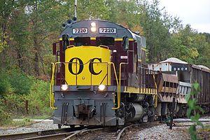 Ohio Central Railroad (1988) - Image: The Ballast Train (1571205425)