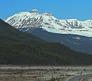 The Castelets mountain in Canada
