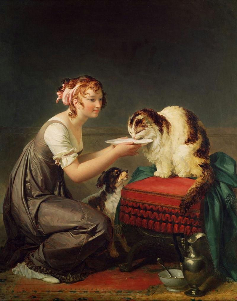 玛格丽特·杰拉德法国画家Marguerite Gérard (French, 1761–1837) - 文铮 - 柳州文铮